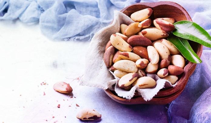 A single Brazil nut has 68–91 mcg of selenium.