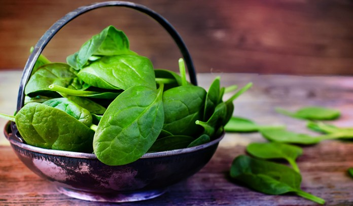 A cup of boiled spinach has 943 mcg RAE of vitamin A.