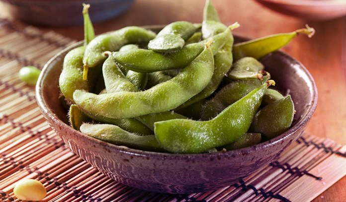 1 cup of edamame: 99 mg of magnesium (23.5% DV)