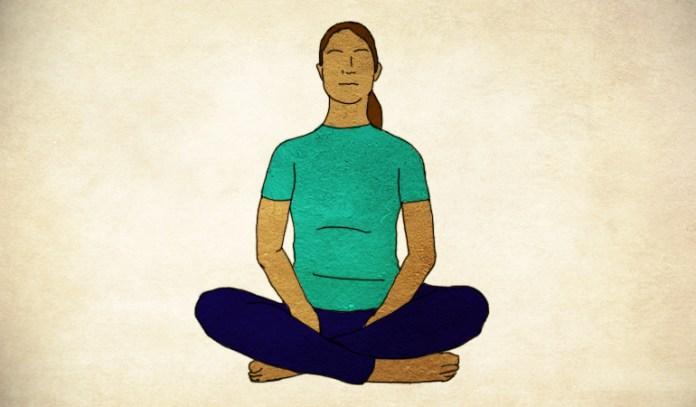 Deep belly breathing gets rid of diastasis recti.