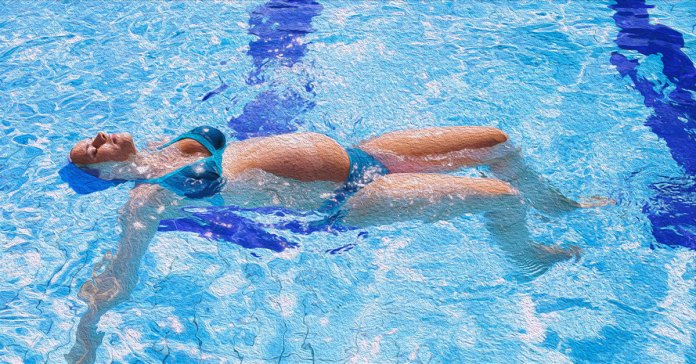 Swimming is a good exercise during pregnancy but avoid it if you have pregnancy complications.
