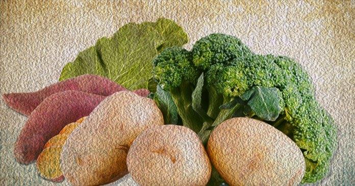 Vegetables rich in magnesium.