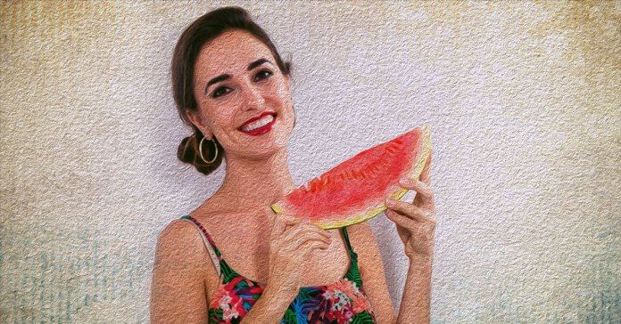 Watermelon has several benefits for the skin.