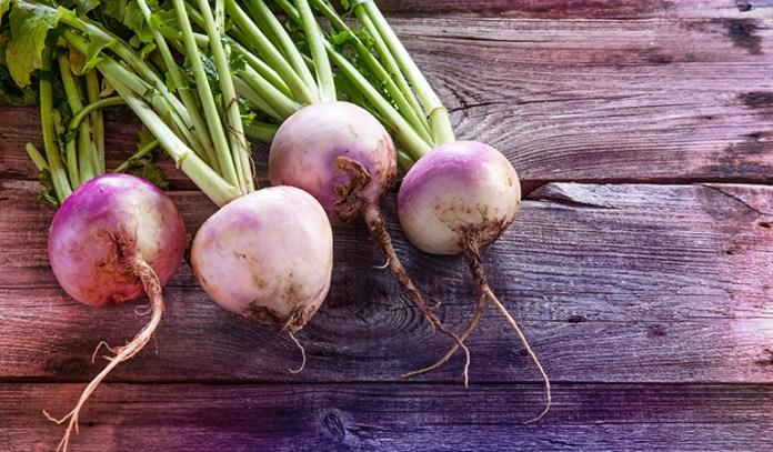 1 cup of raw turnip: 27.3 mg of vitamin C (30.3% DV)