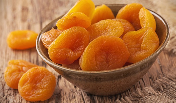 A cup of dried apricots has 5.63 mg of vitamin E (9.4% DV).