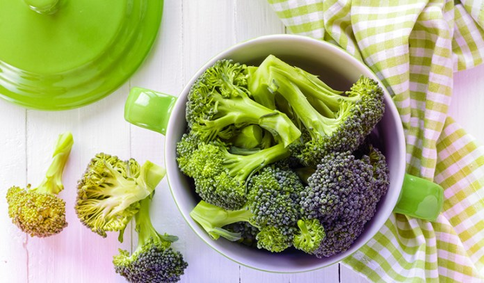 A cup of broccoli has around 0.48 mg of boron.