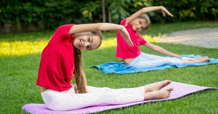 Benefits of yoga for kids.