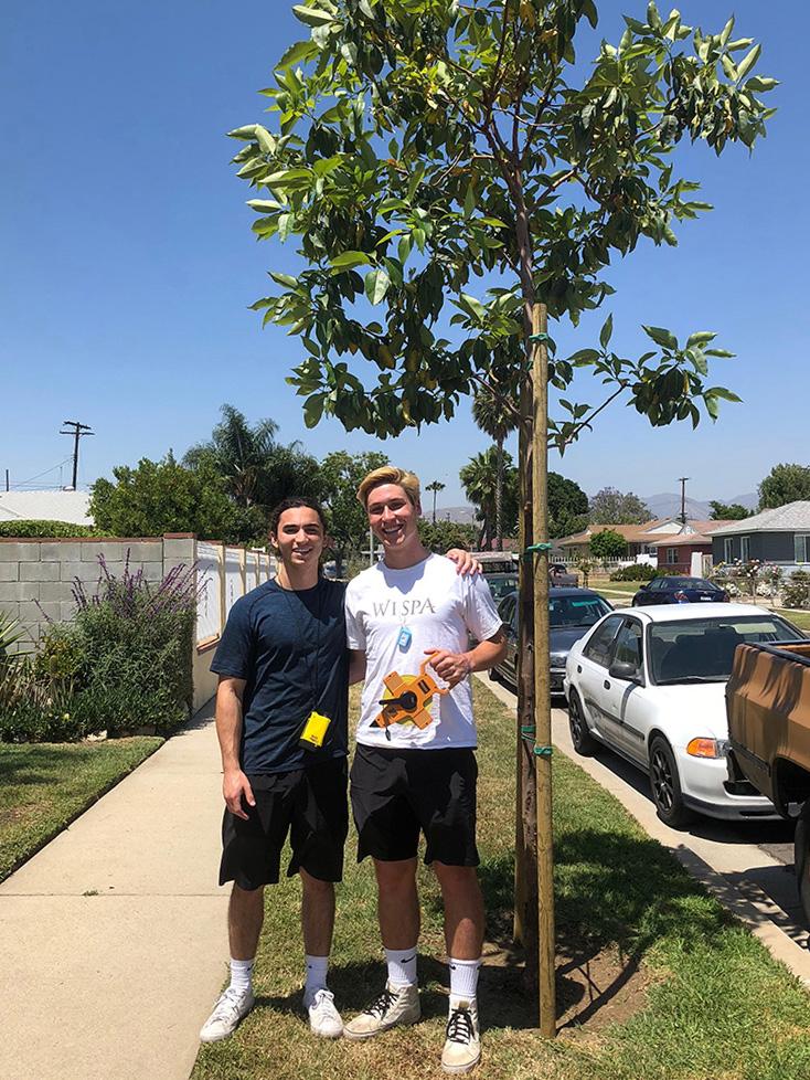 Matt Sheridan (LMU '19) and Calvin Foss (LMU '21)