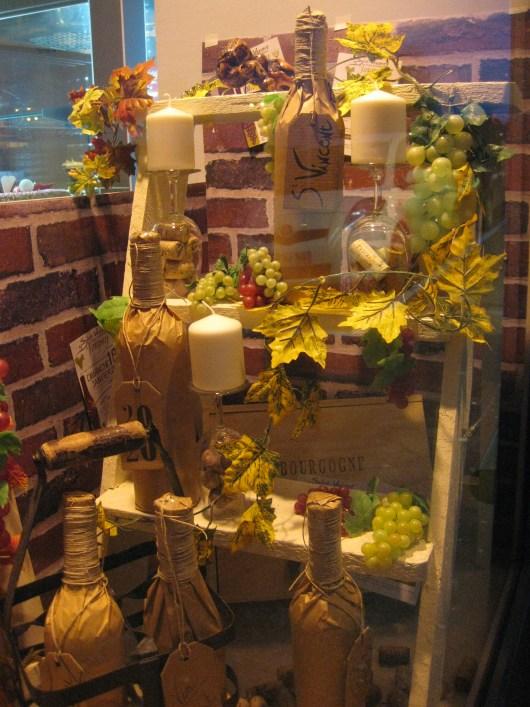 Vitrine Vigne et Vin