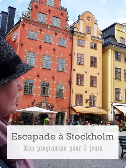 3 jours Stockholm