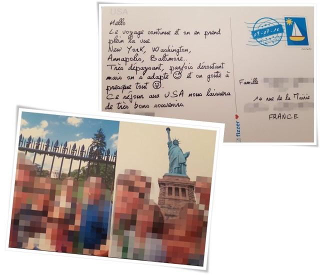 Appli cartes postales