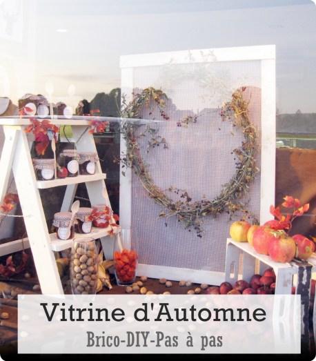 vitrine automne