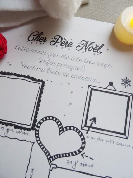 lettre Pere Noel