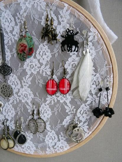 Porte-boucles d'oreilles-DIY