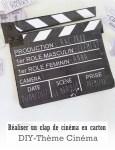 Réaliser un clap de cinéma-DIY
