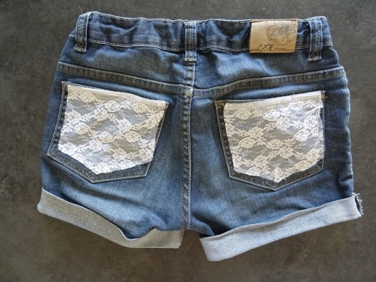 Short customisé-DIY