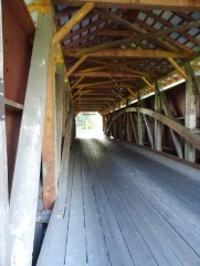 Siegrist's Mill covered bridge construit en 1885.