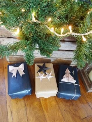 Embellir ses paquets cadeaux