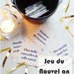 Jeu du Nouvel An-Cartes à imprimer