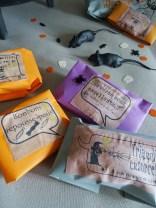 Pochette bonbons Halloween à imprimer