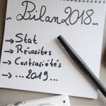 Bye Bye 2018...Bonjour 2019!-Bilan blog