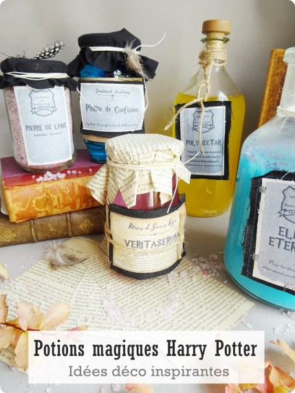 potions magiques Harry Potter