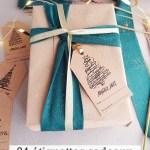 24 étiquettes cadeau pour un Noël créatif