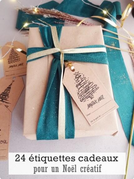 etiquettes Noël