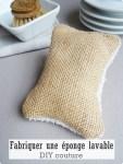 Fabriquer des éponges lavables-DIY couture