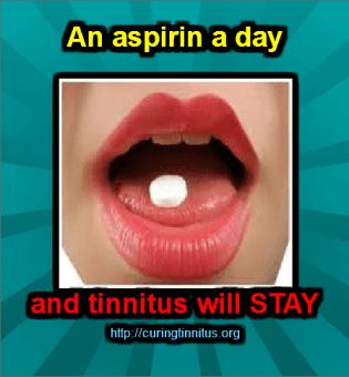 aspirin and tinnitus