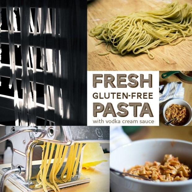 fresh gluten free pasta