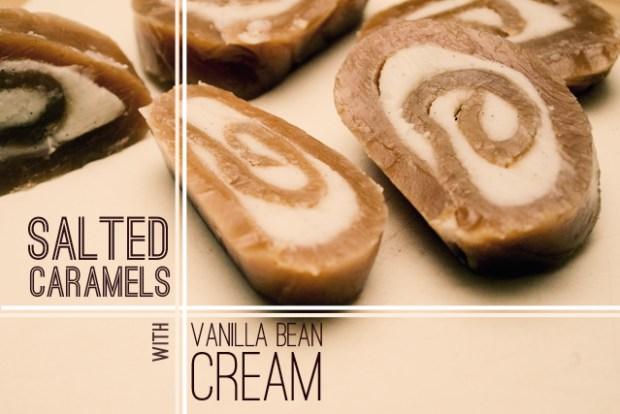 salted caramel swirls
