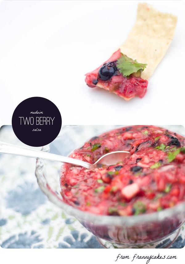 gluten free strawberry blueberry salsa