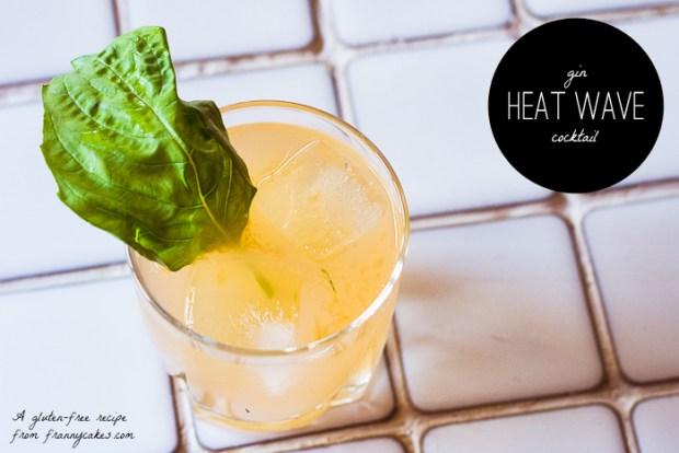 gluten-free gin cocktail