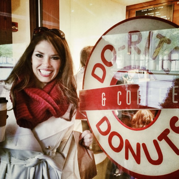 FrannyCakes brought Kyra Bussanich at Do-Rite Donuts in Chicago