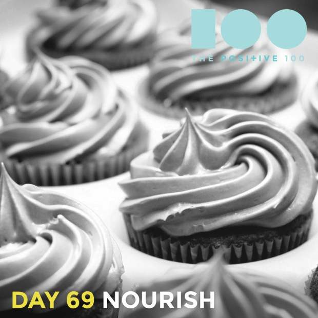 Cupcakes are therapy. And they nourish the soul.
