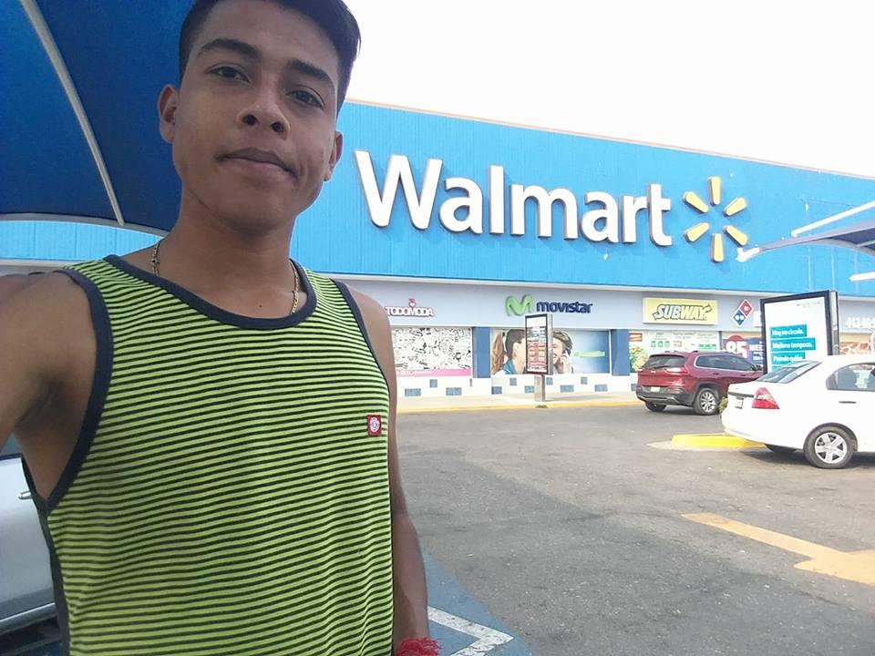 triste historia en Walmart