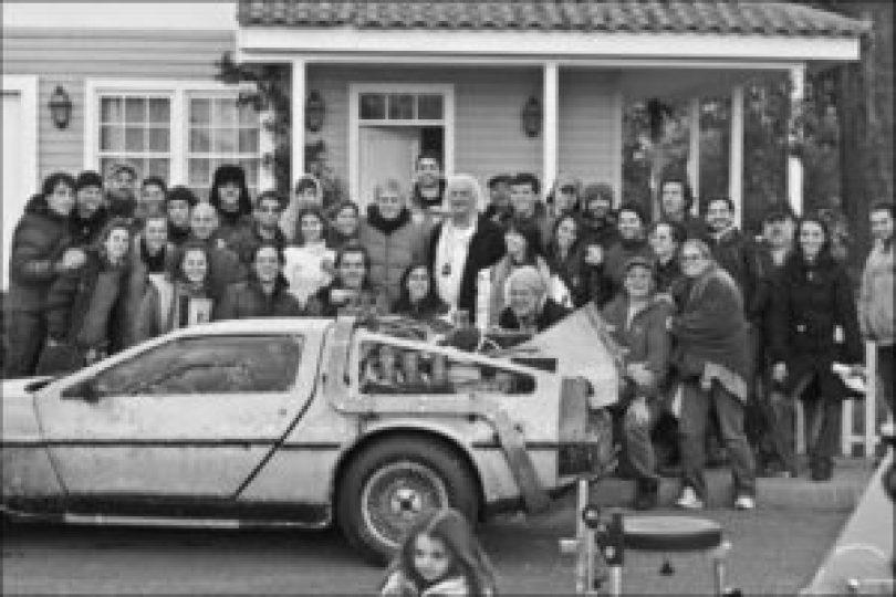 De Volta Para o Futuro 9 300x200 - Cenas raras dos locais de gravação do filme De Volta para o Futuro