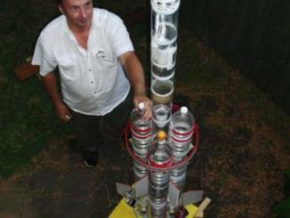 Cohete Agua