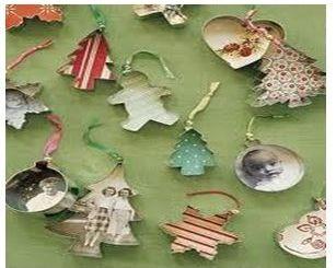 crear adornos baratos de navidad