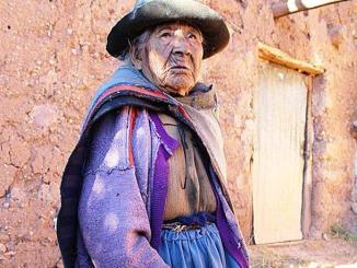 Filomena Taipe Mendoza, una peruana de 116 Años