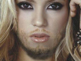 Shakira como Conchita Wurst
