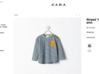 Zara Retira una Camiseta porque se parece a los Uniformes en los Campos Nazis