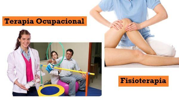 Terapia Ocupacional y Fisioterapia