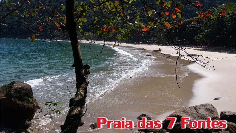 Trilha para a Praia das 7 Fontes - Praia das 7 Fontes
