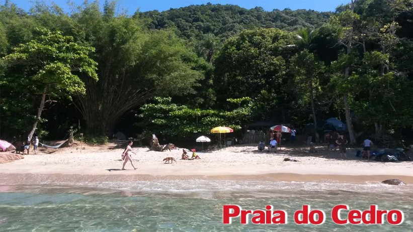 Praia do Cedro - Trilha das 7 Praias - Ubatuba