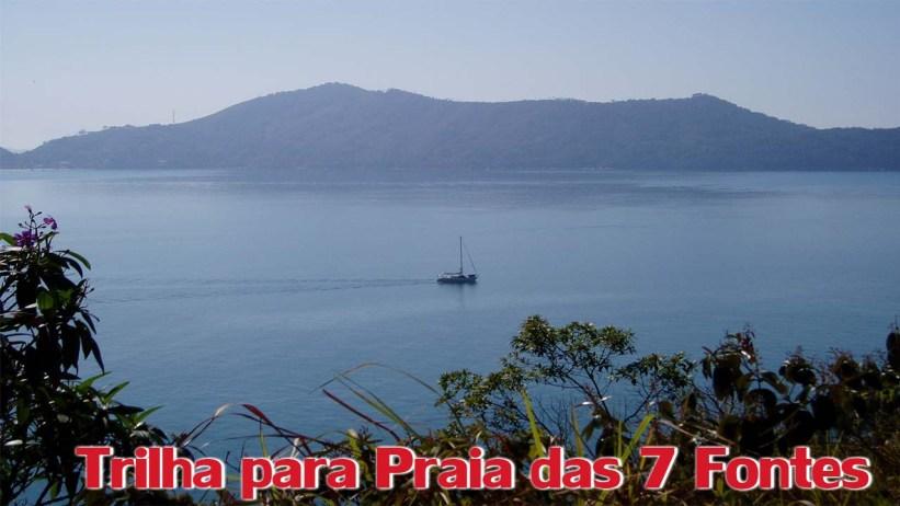 Trilha para a Praia das 7 Fontes