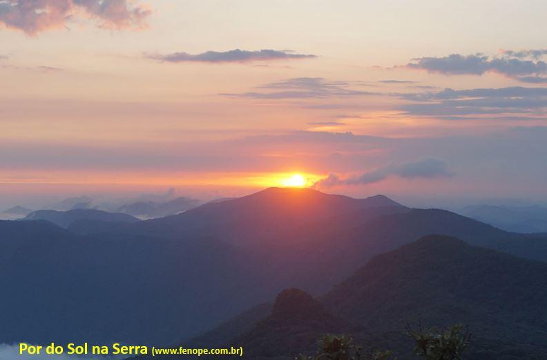 Pico do Corcovado - Pôr do Sol