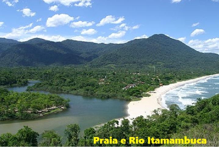 Rio Itamambuca e Praia de Itamambuca