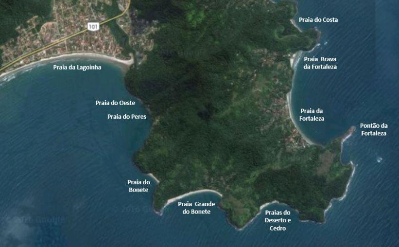 Praia do Bonete - Trilha das 7 Praias